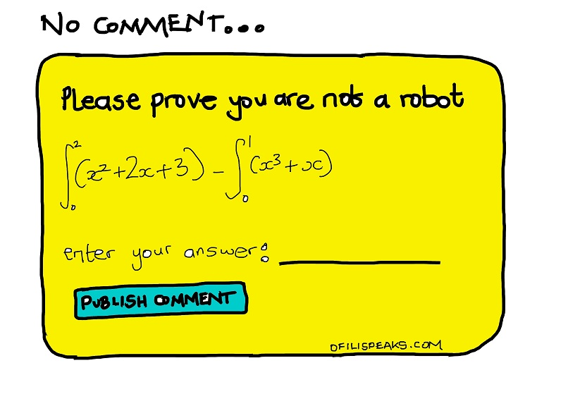 How Recaptcha Assassinates Blog Comments